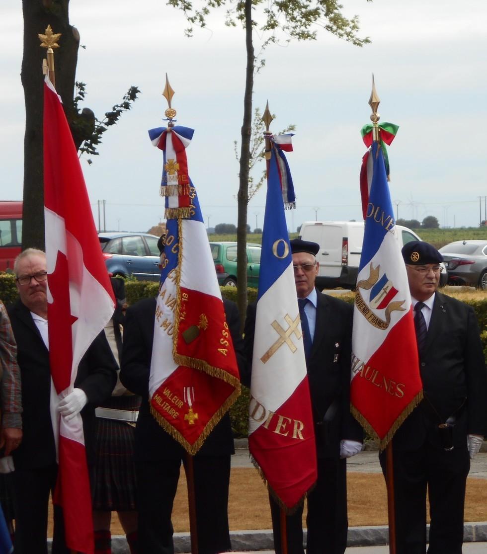 08 aout 2018 : commémoration cimetière canadien LE QUESNEL Dscn1130