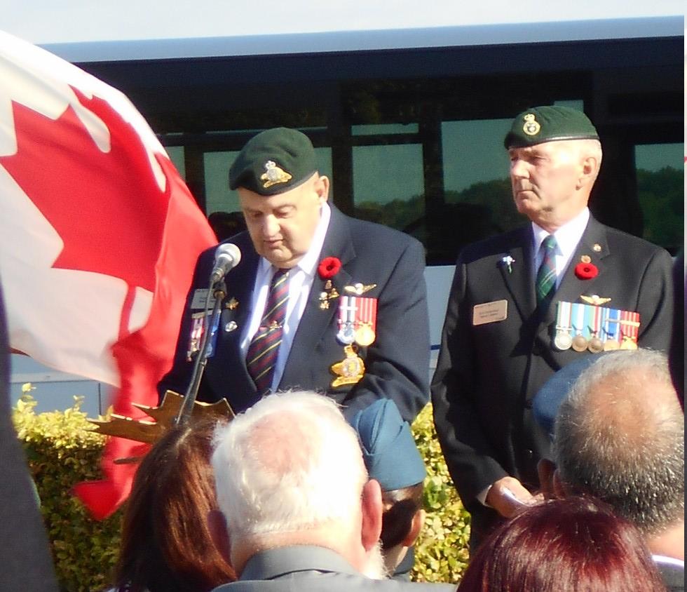 08 aout 2018 : commémoration cimetière canadien LE QUESNEL Dscn1147