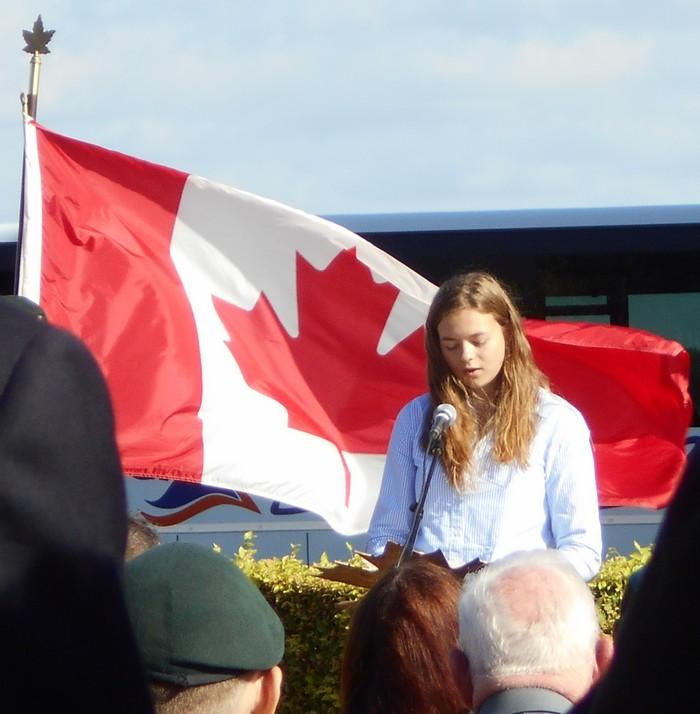 08 aout 2018 : commémoration cimetière canadien LE QUESNEL Dscn1154