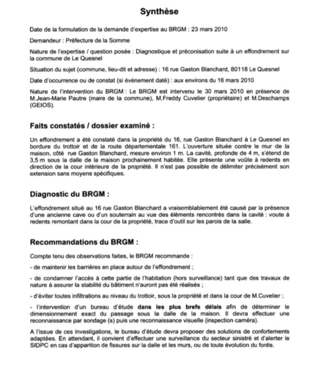 LE SOL Constitution du sol Rappor26