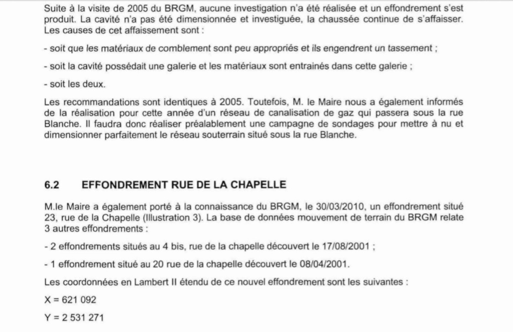 LE SOL Constitution du sol Rappor31