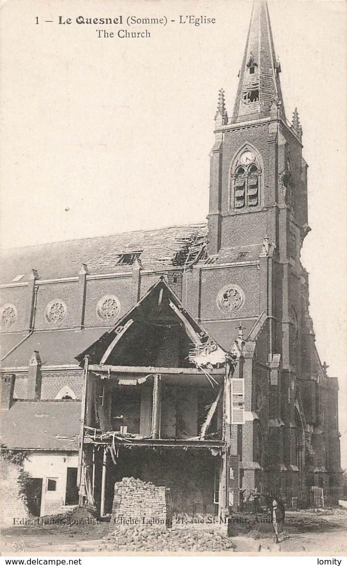 L'EGLISE de Le Quesnel : église Saint léger. Sans_161