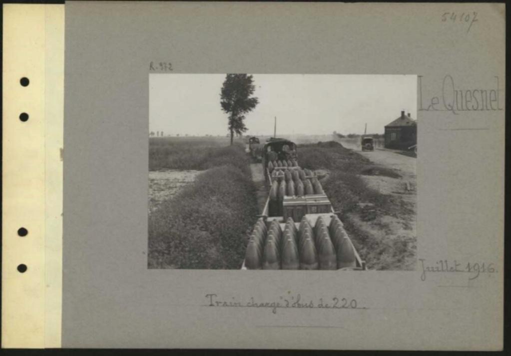 1916 PHOTOS provenant des albums VALOIS : CONVOI D'ânes Sans_t58