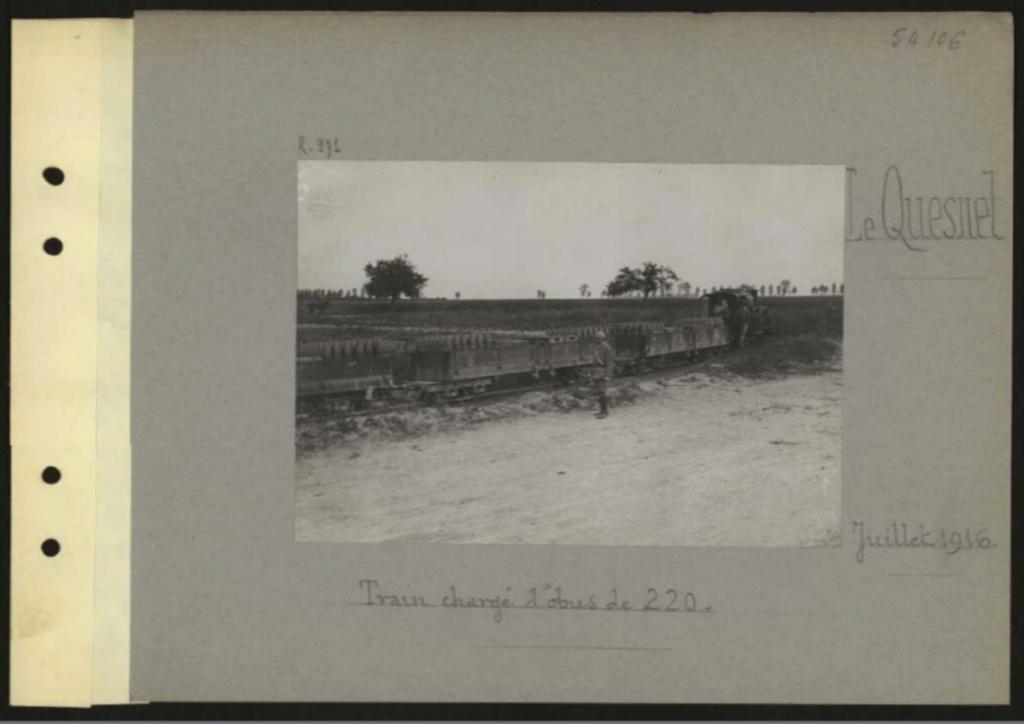 1916 PHOTOS provenant des albums VALOIS : CONVOI D'ânes Sans_t62