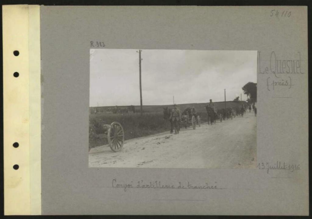 1916 PHOTOS provenant des albums VALOIS : CONVOI D'ânes Sans_t64