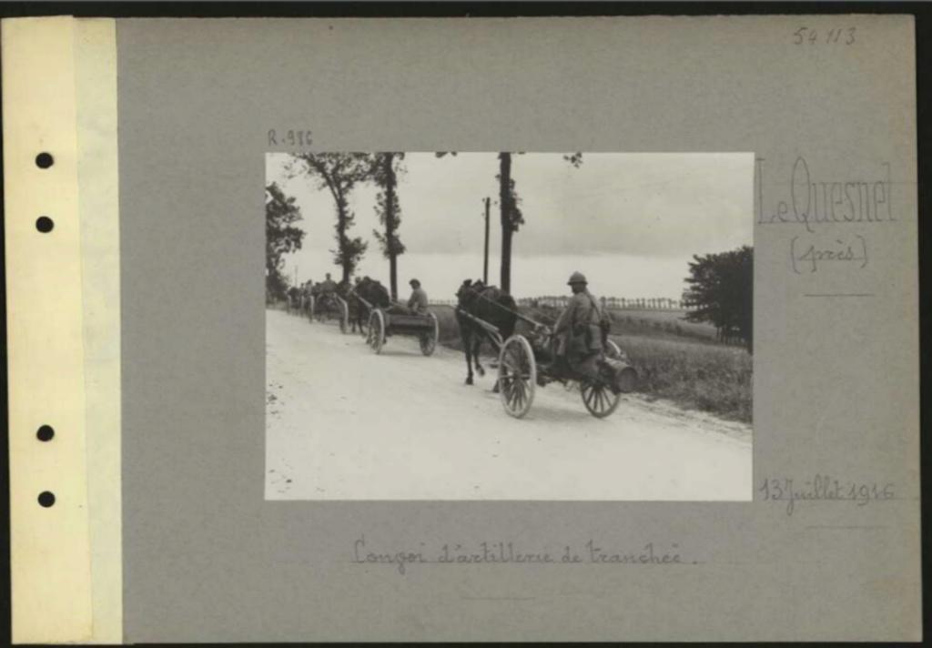 1916 PHOTOS provenant des albums VALOIS : CONVOI D'ânes Sans_t65