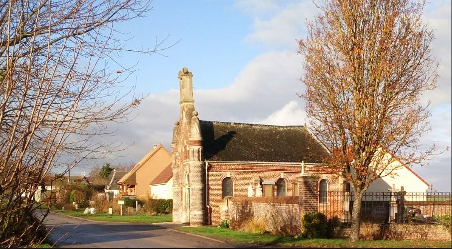 la chapelle Notre Dame Auxiliatrice Sans_t71