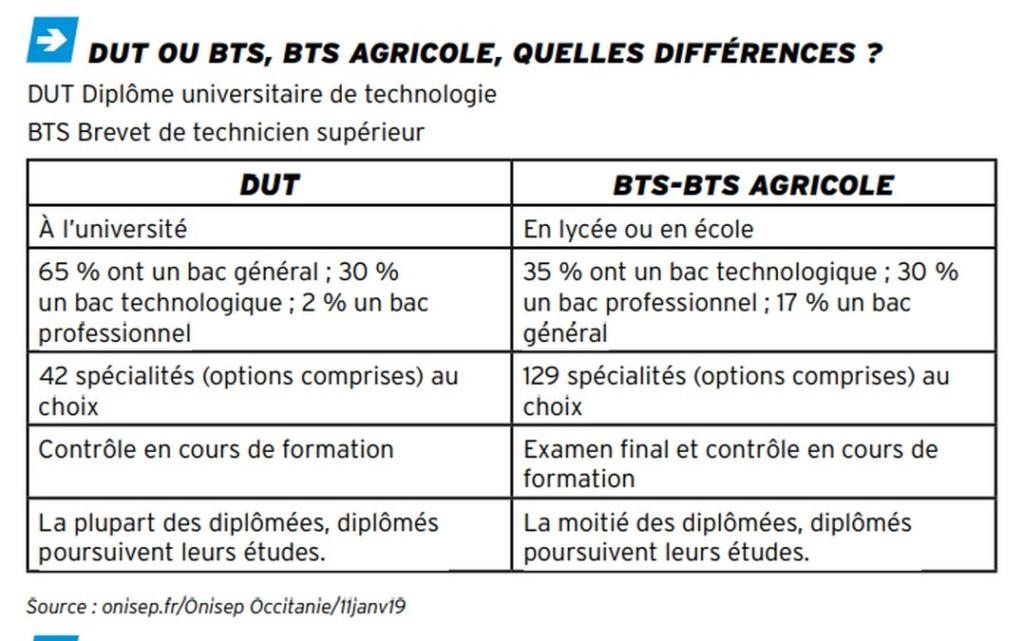DIFFERENCE entre BTS et DUT Sans_t73