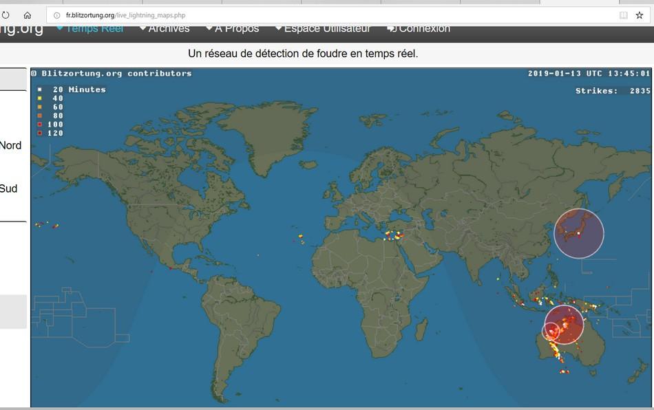 les alertes météo.... un site qui permet de voir les orages en temps réel Sans_t76