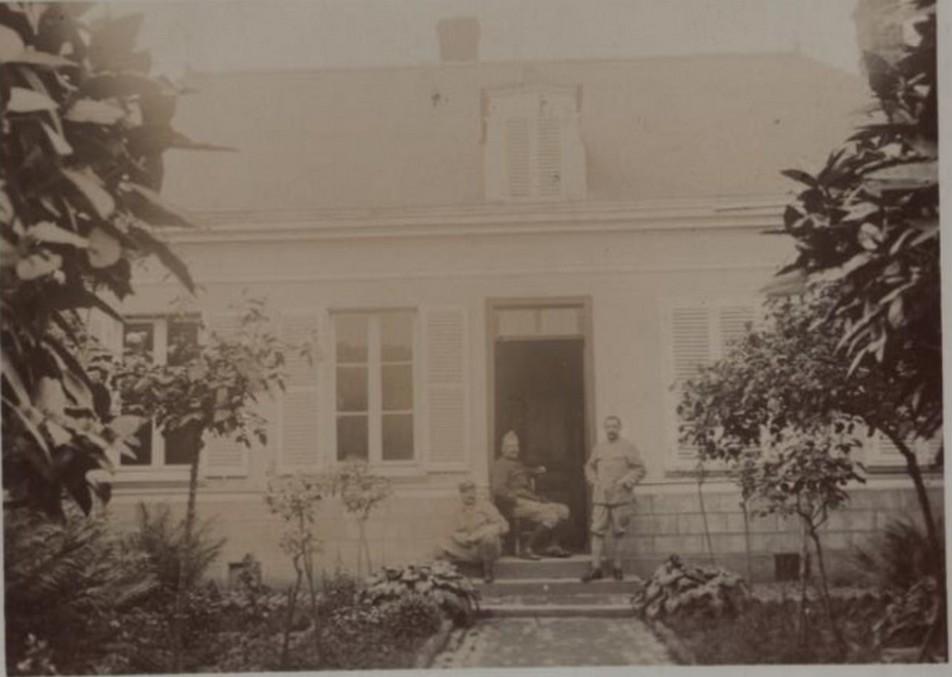 photos de LE QUESNEL pendant la guerre Somme_10