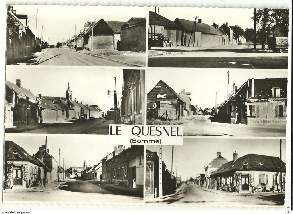 cartes postales originales de LE QUESNEL Vac10