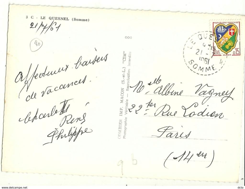 cartes postales originales de LE QUESNEL Vac210