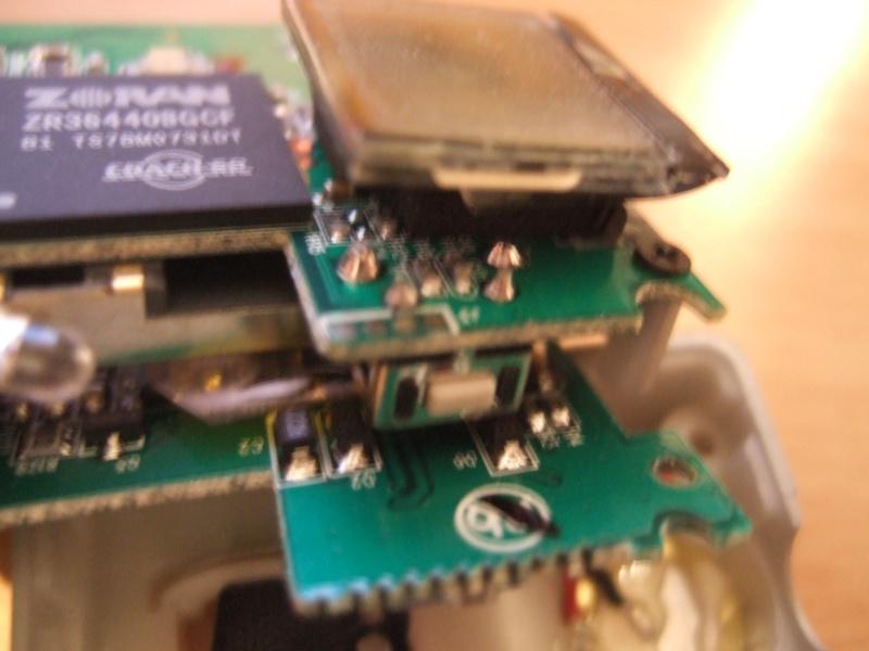 Remplacement d'un bouton de la gopro 3MP Dscf4610