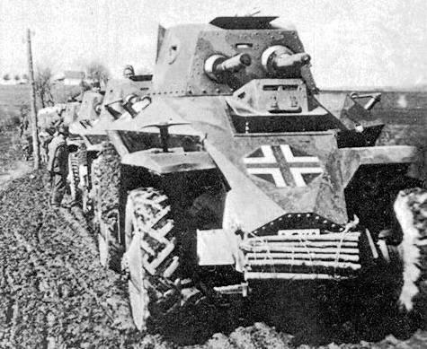 Vehiculos y Tanques capturados por los Alemanes 39m10