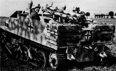 Vehiculos y Tanques capturados por los Alemanes A10