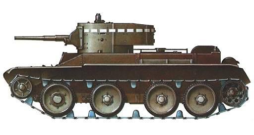 Vehiculos y Tanques capturados por los Alemanes Bt510