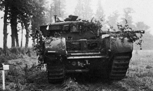 Vehiculos y Tanques capturados por los Alemanes Church10