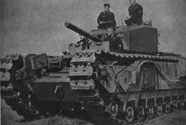 Vehiculos y Tanques capturados por los Alemanes Cruise10