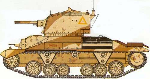 Vehiculos y Tanques capturados por los Alemanes Crusei11