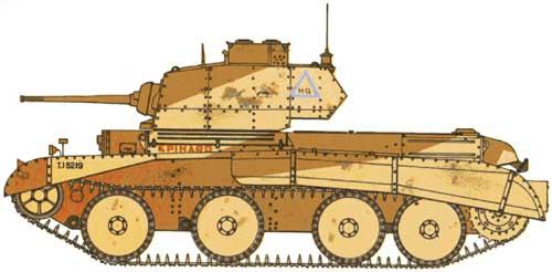 Vehiculos y Tanques capturados por los Alemanes Crusei12