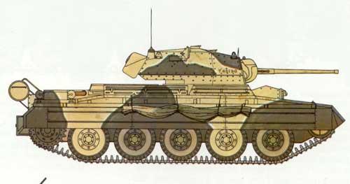 Vehiculos y Tanques capturados por los Alemanes Crusei14