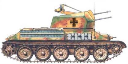 Vehiculos y Tanques capturados por los Alemanes Flakt312