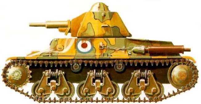 Vehiculos y Tanques capturados por los Alemanes H-3510