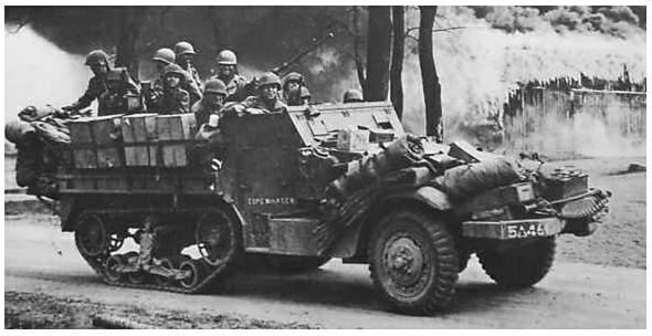 Vehiculos y Tanques capturados por los Alemanes Halftr10