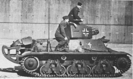 Vehiculos y Tanques capturados por los Alemanes Hotchk12