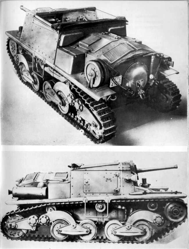 Vehiculos y Tanques capturados por los Alemanes Ita-se10