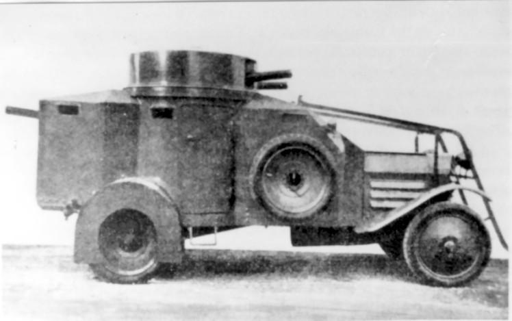 Vehiculos y Tanques capturados por los Alemanes Lancia10