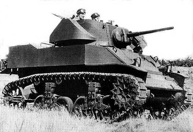 Vehiculos y Tanques capturados por los Alemanes M510