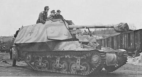 Vehiculos y Tanques capturados por los Alemanes Marder11