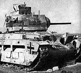Vehiculos y Tanques capturados por los Alemanes Matild10