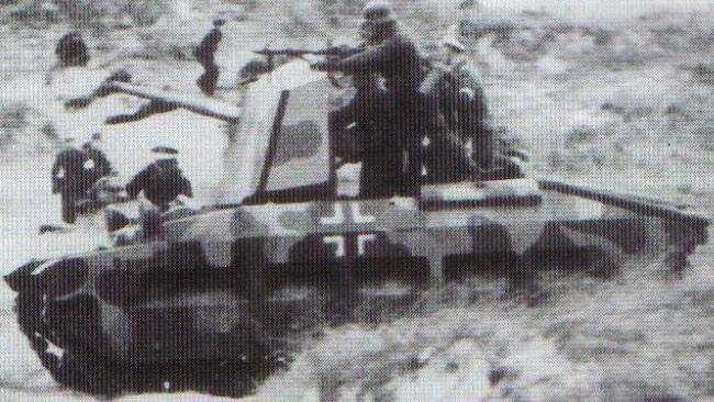 Vehiculos y Tanques capturados por los Alemanes Matild13