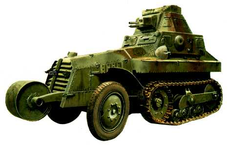 Vehiculos y Tanques capturados por los Alemanes Panhar11