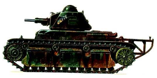 Vehiculos y Tanques capturados por los Alemanes Renaul11