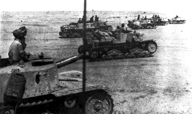 Vehiculos y Tanques capturados por los Alemanes Semove16
