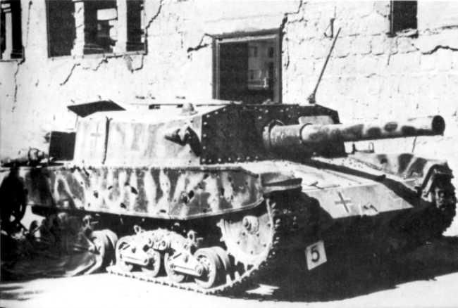 Vehiculos y Tanques capturados por los Alemanes Semove20