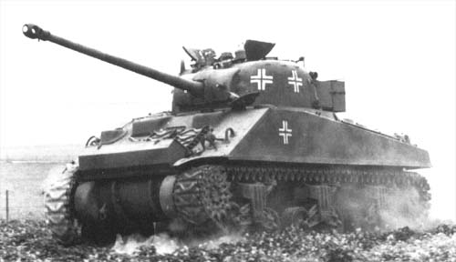 Vehiculos y Tanques capturados por los Alemanes Sherma10
