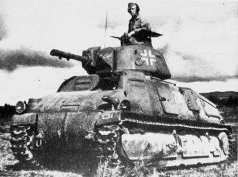 Vehiculos y Tanques capturados por los Alemanes Somua_13