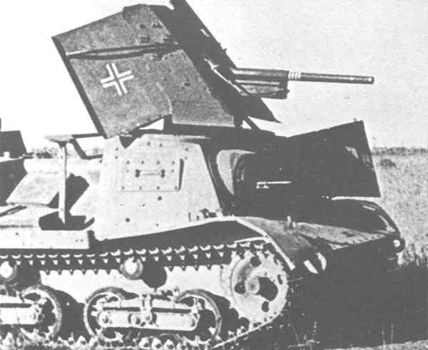 Vehiculos y Tanques capturados por los Alemanes Stz-310