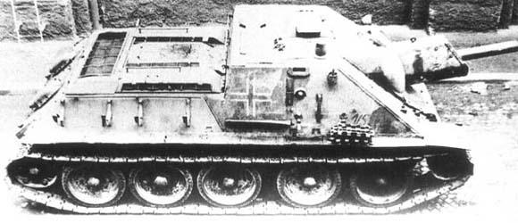 Vehiculos y Tanques capturados por los Alemanes Su12210