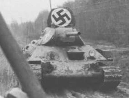 Vehiculos y Tanques capturados por los Alemanes T34x7612