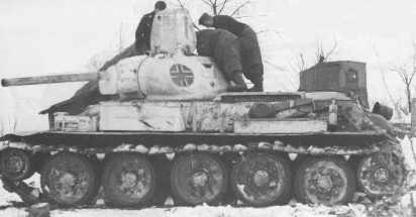 Vehiculos y Tanques capturados por los Alemanes T34x7613