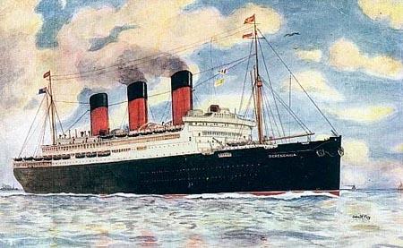 RMS Homeric, le 3ème jumeau de Titanic Bereng10