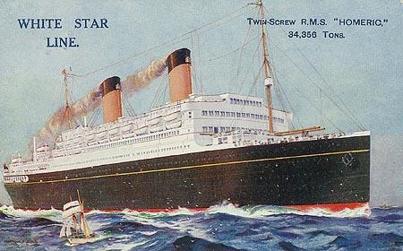 RMS Homeric, le 3ème jumeau de Titanic Homeri10