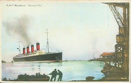 RMS Homeric, le 3ème jumeau de Titanic Mauret10
