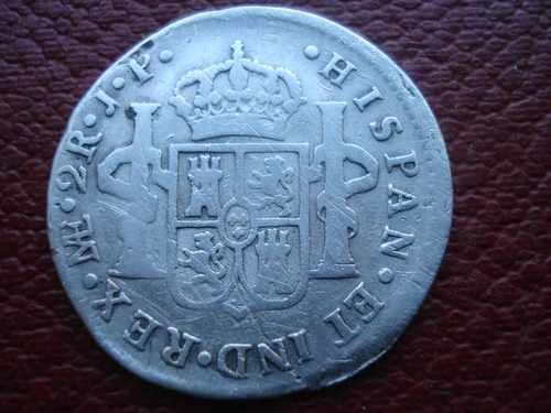 2 Reales de Carlos IV (Lima, 1803) Img110