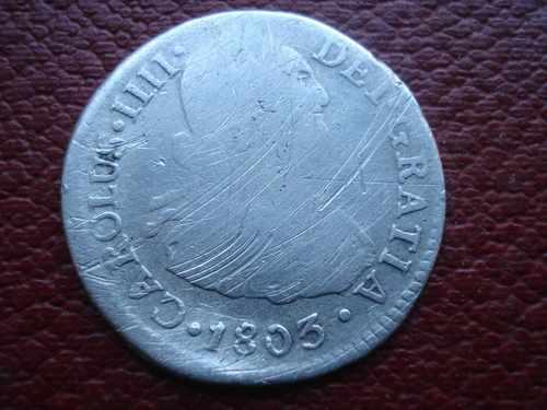 2 Reales de Carlos IV (Lima, 1803) Img210